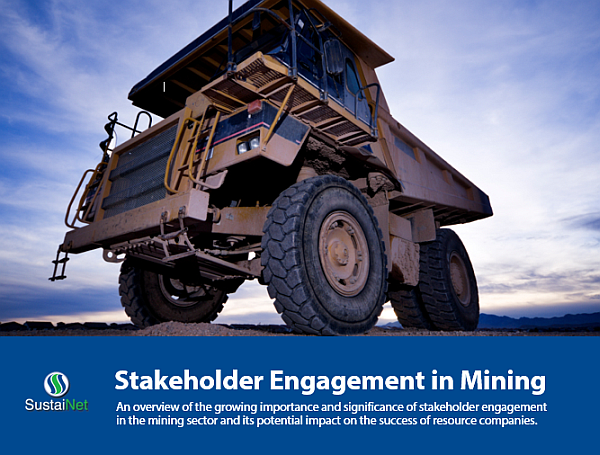 Stakeholder engagement in mining