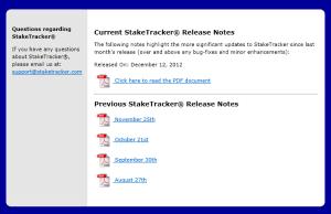 Release Screen