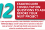 Stakeholder Engagement Questions