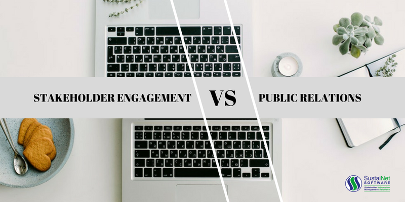 stakeholder engagement vs public relations what s the difference