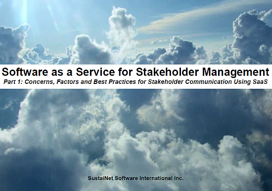 SaaS Security for Stakeholder Engagement Part 1